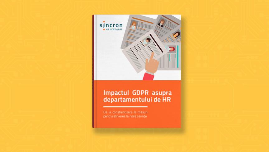 Impactul GDPR asupra departamentului de HR